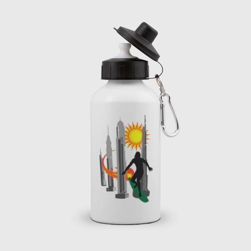 Бутылка спортивная  Фото 01, Уличный серфер
