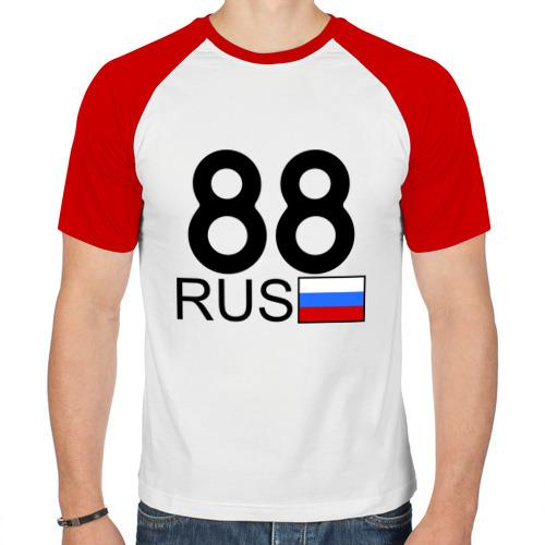 Мужская футболка реглан  Фото 01, Красноярский край-88