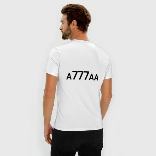 Мужская футболка премиум  Фото 04, Чеченская республика-95