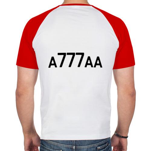 Мужская футболка реглан  Фото 02, Московская область-150
