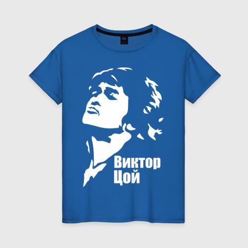 Женская футболка хлопок Виктор Цой XXXL фото