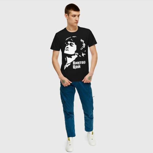 Мужская футболка хлопок Виктор Цой Фото 01
