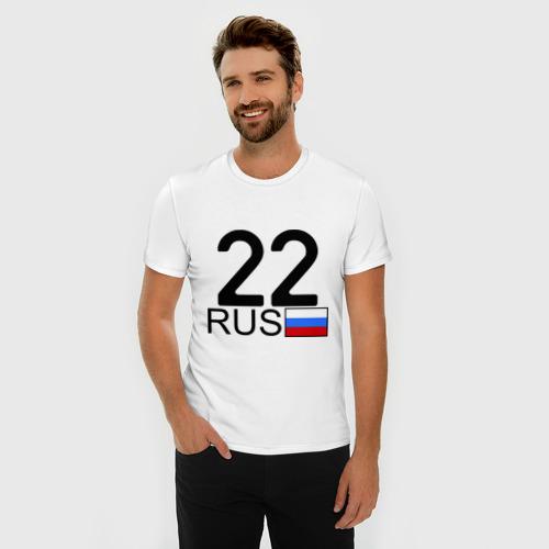 Мужская футболка премиум  Фото 03, Алтайский край-22