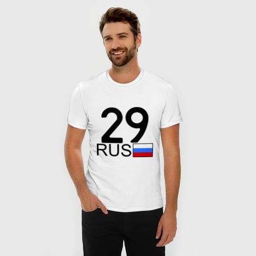 Мужская футболка премиум  Фото 03, Архангельская область-29