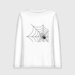 В плену у паучка (спина)