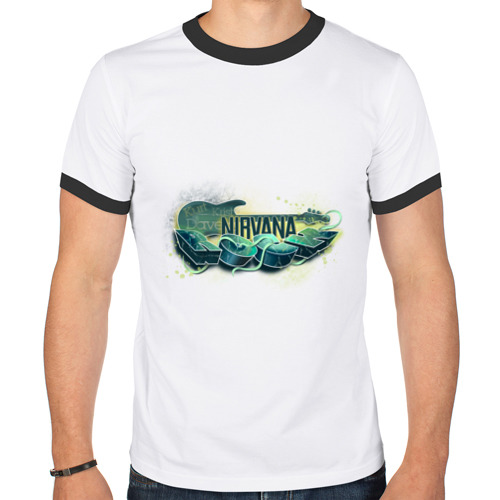 Мужская футболка рингер  Фото 01, Nirvana ROCK