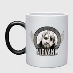 Kurt Cobain с крыльями