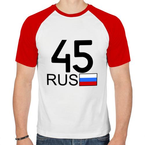Мужская футболка реглан  Фото 01, Курганская область-45