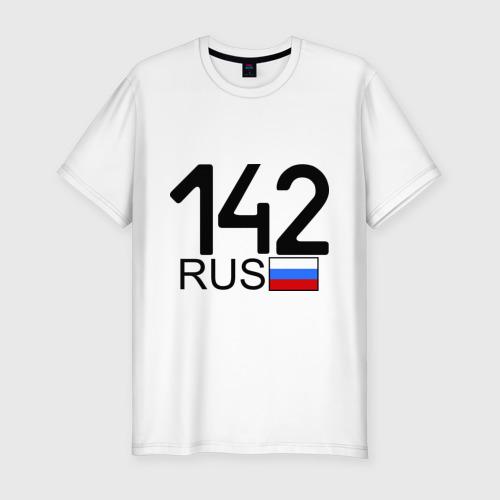 Мужская футболка премиум  Фото 01, Кемеровская область-142