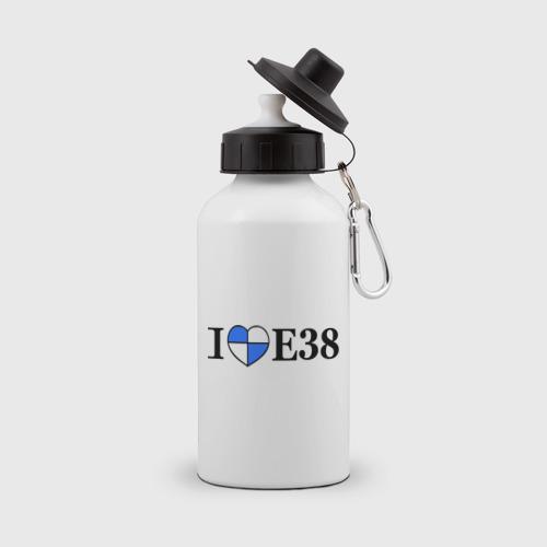 Бутылка спортивная  Фото 01, I love e38