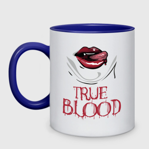 Кружка двухцветная  Фото 01, true blood