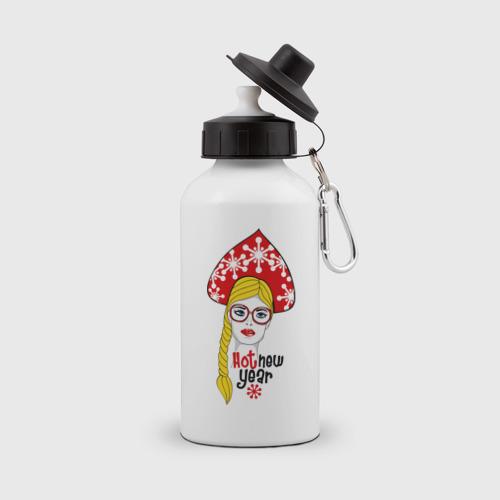 Бутылка спортивная  Фото 01, Современная снегурочка