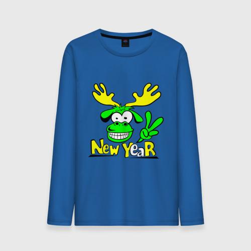 Олень new year