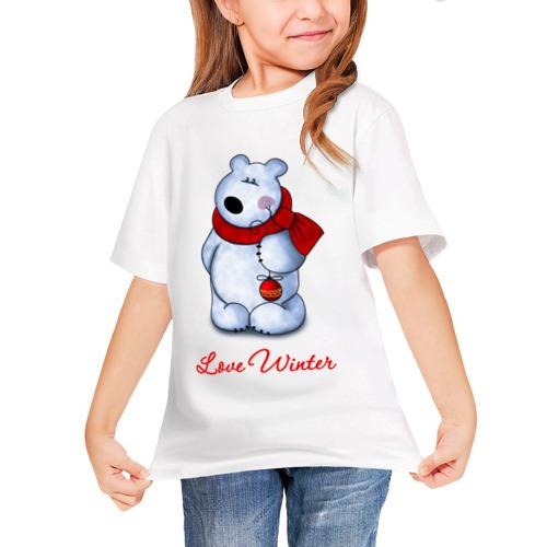 Детская футболка синтетическая White beer от Всемайки
