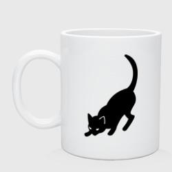 Черная/Белая кошечка