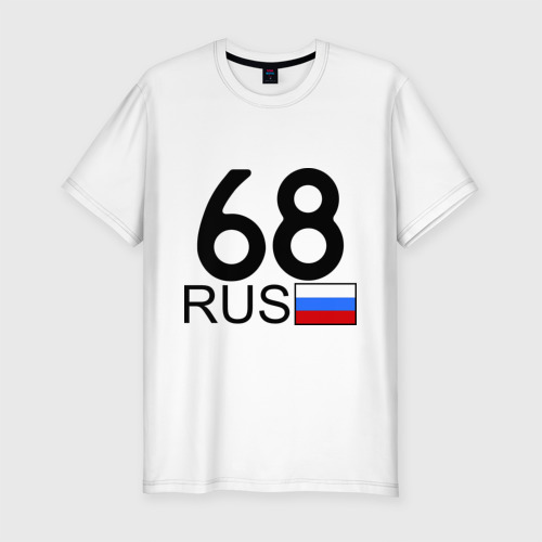 Мужская футболка премиум  Фото 01, Тамбовская область-68