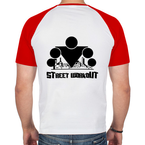 Мужская футболка реглан  Фото 02, Стрит Воркаут