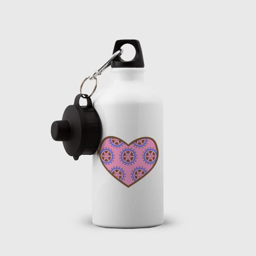 Бутылка спортивная  Фото 03, Сердечечко