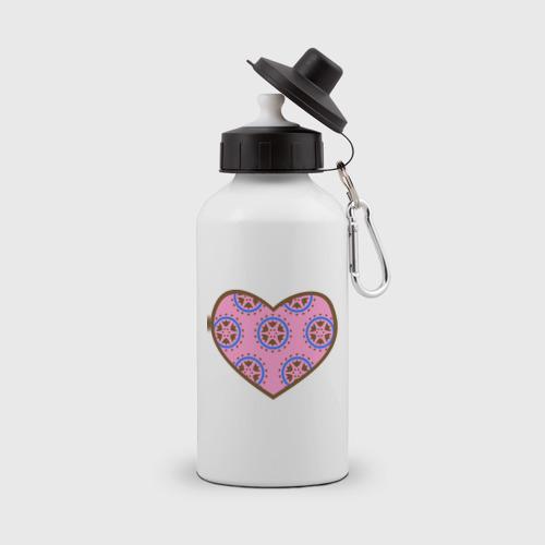 Бутылка спортивная  Фото 01, Сердечечко