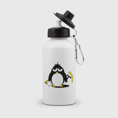 Пингвин красит