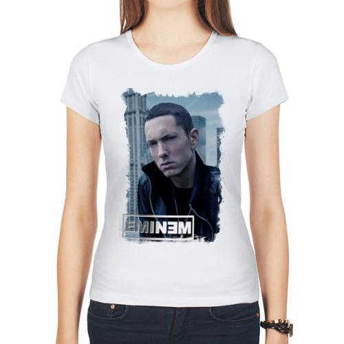 """Женская футболка синтетическая """"Еminem, rap"""" - 1"""
