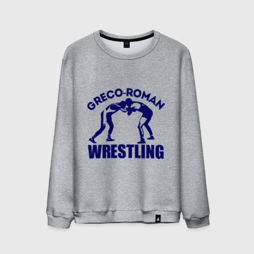 Мужской свитшот хлопок  Фото 01, Greco-roman wrestling