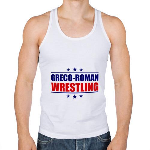 Мужская майка борцовка  Фото 01, Greco-roman wrestling, звезды