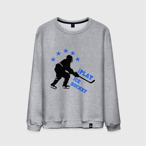 Мужской свитшот хлопок  Фото 01, iPlay Ice Hockey