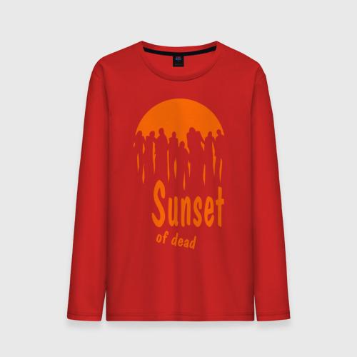 Sunset of dead