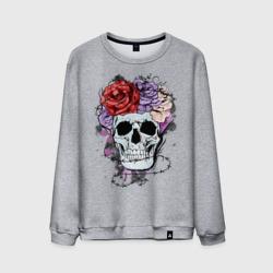 Glam rock skull