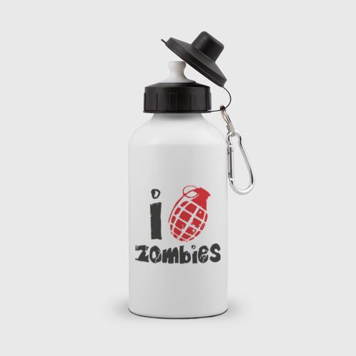 Бутылка спортивная  Фото 01, I Bomb Zombies