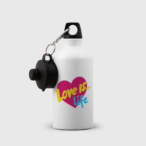 Бутылка спортивная  Фото 03, Любовь -  это жизнь