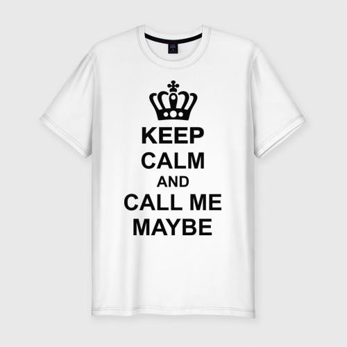 Мужская футболка премиум  Фото 01, Call me maybe