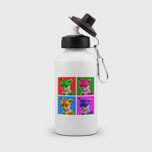 Бутылка спортивная  Фото 01, Лисы