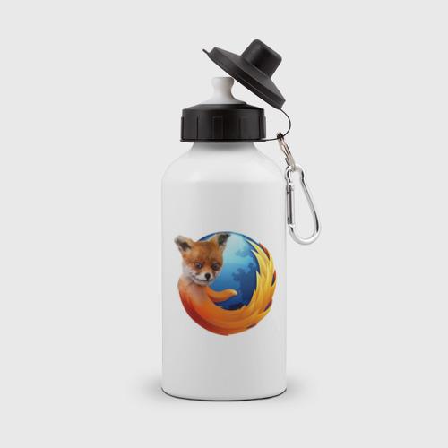 Бутылка спортивная  Фото 01, Firefox лис
