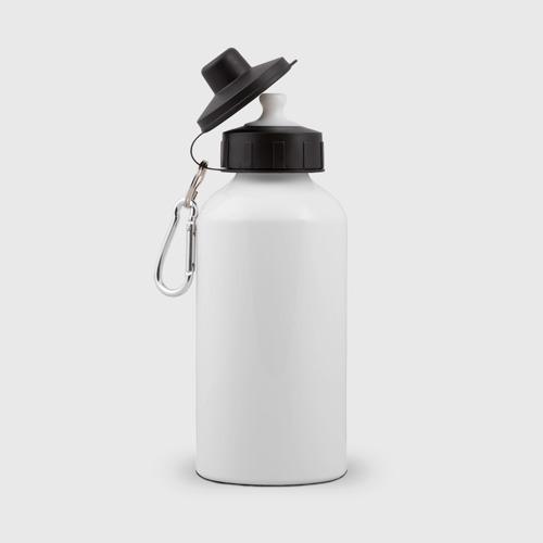 Бутылка спортивная  Фото 02, Лис на черном фоне