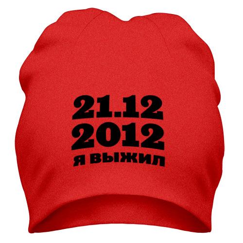 Шапка 21.12.2012 я выжил