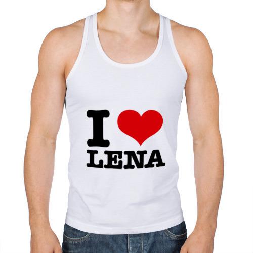 Мужская майка борцовка  Фото 01, I love Lena