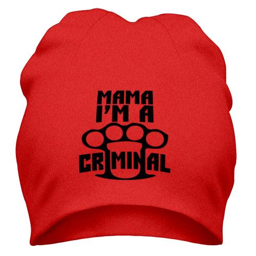 Шапка I am a criminal
