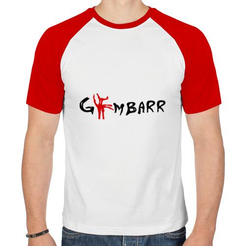 Мужская футболка реглан  Фото 01, Gimbarr - Ломаная Кость