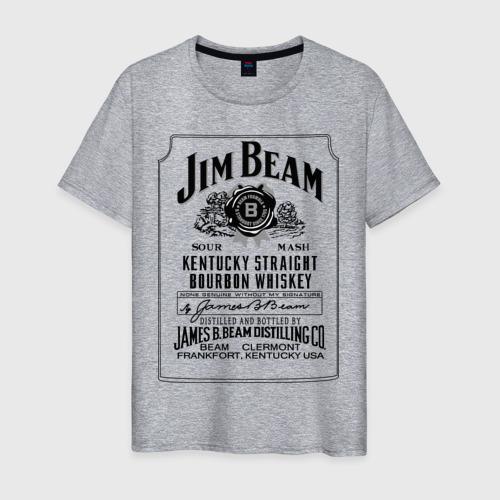 Мужская футболка хлопок Jim Beam whiskey Фото 01
