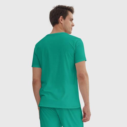 Мужская пижама хлопок Я врач, я не хочу никого лечить Фото 01