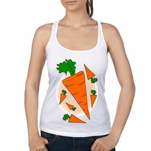 Женская майка борцовка  Фото 01, Carrot