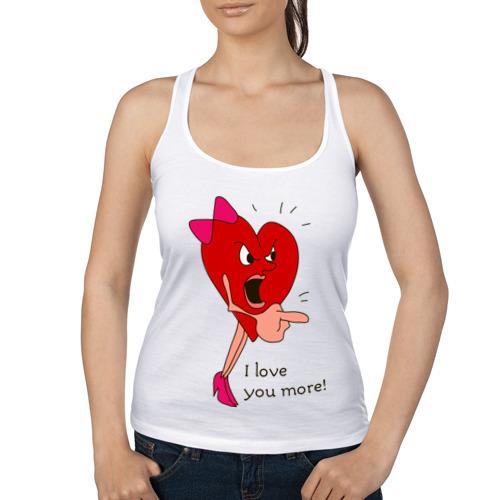 "Женская майка-борцовка ""Hearts fight woman"" - 1"