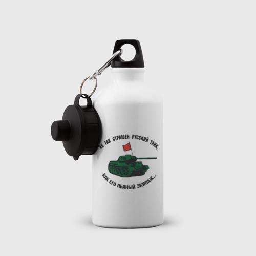 Бутылка спортивная  Фото 03, Русский танк