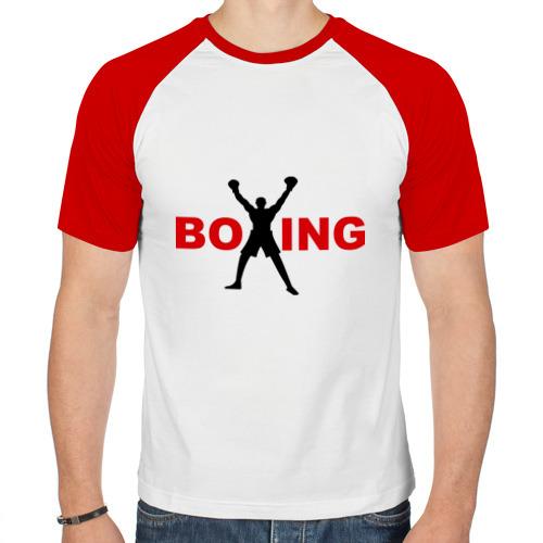 Мужская футболка реглан  Фото 01, Boxing!