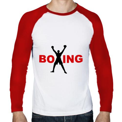 Мужской лонгслив реглан  Фото 01, Boxing!