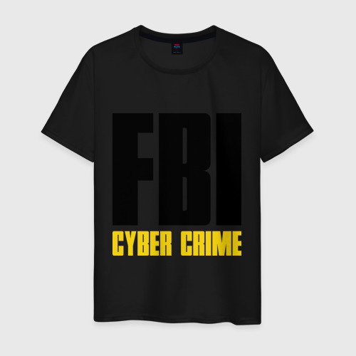 Мужская футболка хлопок FBI - Cyber Crime