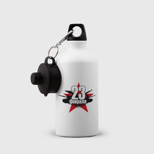 Бутылка спортивная  Фото 03, Лого - 23 февраля
