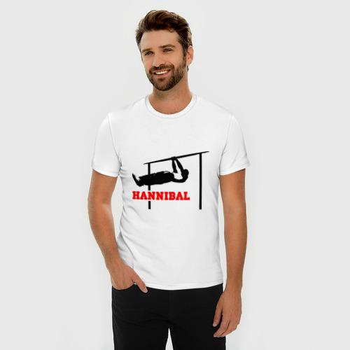 Мужская футболка премиум  Фото 03, Hannibal For King Workout
